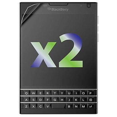 Exian – 2 protecteurs d'écran antireflets pour BlackBerry Passport