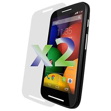 Exian Motorola Moto E Screen Protector, 2 Pieces, Clear