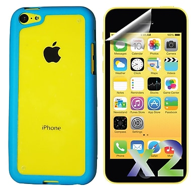 Exian iPhone 6 Bumper with Back Cover, Blue