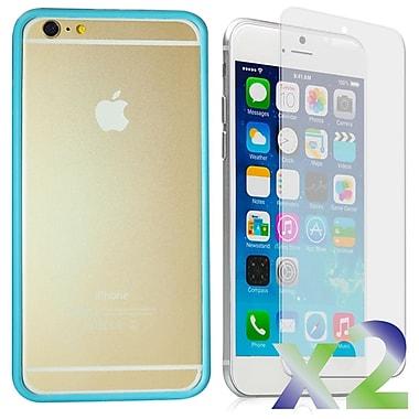 Exian – Étui pare-chocs pour iPhone 6, bleu