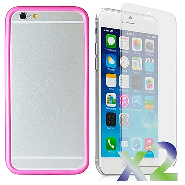 Exian Case for iPhone 6, Bumper Pink