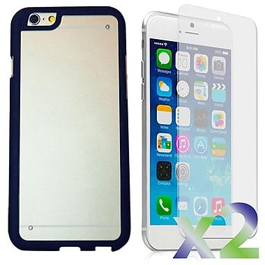 Exian – Étuis pare-chocs avec protecteur arrière pour iPhone 6