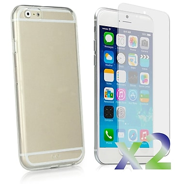 Exian Case for iPhone 6, Transparent Clear