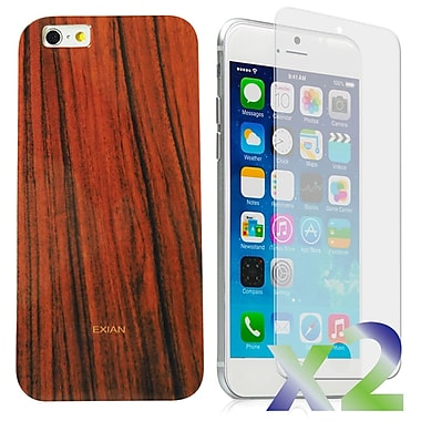 Exian Case for iPhone 6 Plus, Wood
