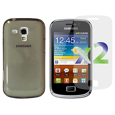 Exian Case for Galaxy Ace 2X, TPU Transparent Grey