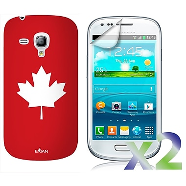 Exian Case for Galaxy S3 Mini, Maple Leaf