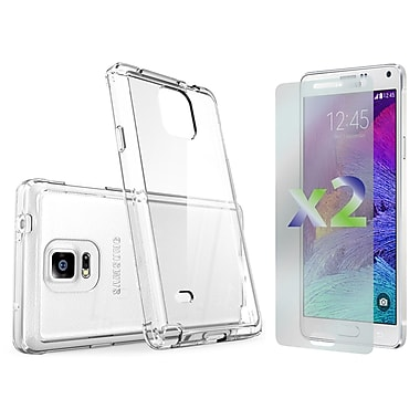 Exian Case for Galaxy Note 4, Transparent Clear