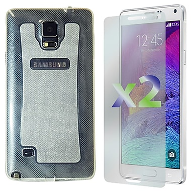 Exian Case for Galaxy Note 4, Transparent Sparkling Clear