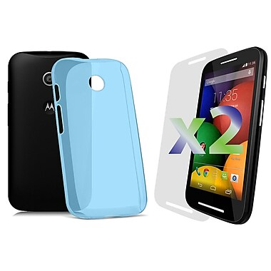 Exian Cases for Moto E, Transparent