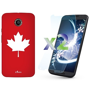 Exian Case for Moto X2, Maple Leaf