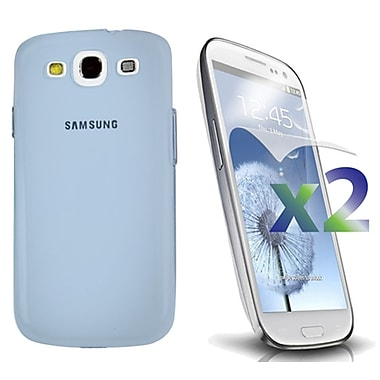 Exian Case for Galaxy S3, Transparent Blue