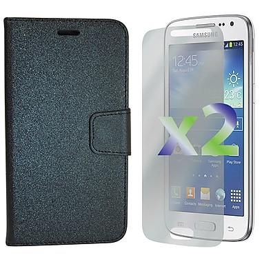 Exian – Étuis portefeuilles en cuir pour Galaxy Core LTE
