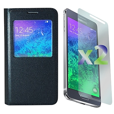 Exian Cases for Galaxy Alpha, Flip with Call Access Window