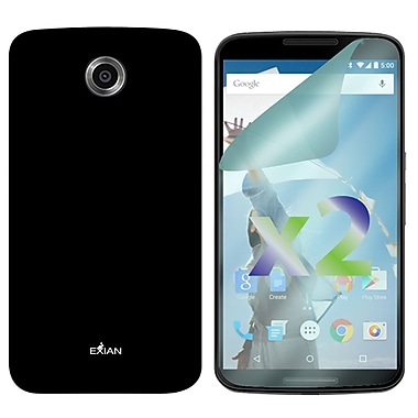 Exian Case for Nexus 6, Solid Black