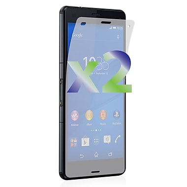 Exian Sony Xperia Z3 Tempered Glass Screen Protector, Clear