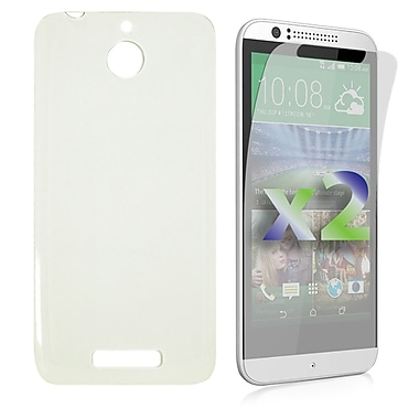 Exian Case for Desire 510, Transparent Clear