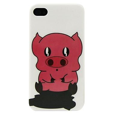 Exian – Étui pour iPhone 4/4S, motif petit cochon