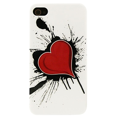 Exian iPhone 4/4s Case, Heart on Ink