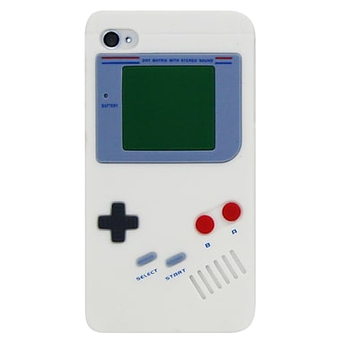 Exian iPhone 4/4s Case, Gameboy Shape White