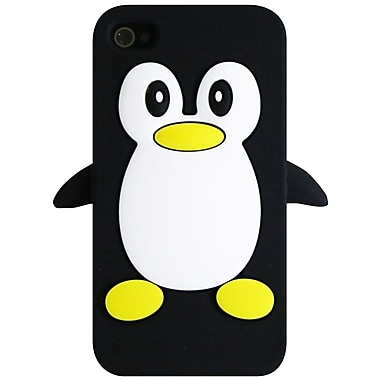 Exian iPhone 4/4s Case, Penguin Black