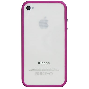 Exian Case for iPhone 4, Bumper Purple