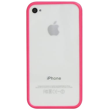 Exian iPhone 4/4s Soft Bumper, Pink