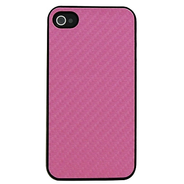 Exian Case for iPhone 4, Carbon Fiber Pink