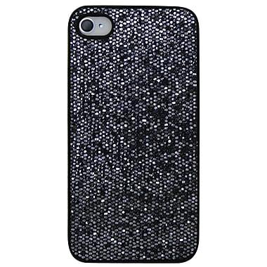 Exian – Étui pour iPhone 4, gris scintillant