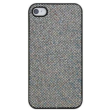Exian Case for iPhone 4, Sparkling Silver
