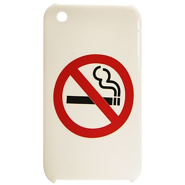 ExianiPhone 3G 3Gs Case, No Smoking White