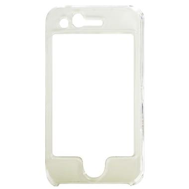 Exian – Étui pour iPhone 3G 3Gs, avant et arrière transparents
