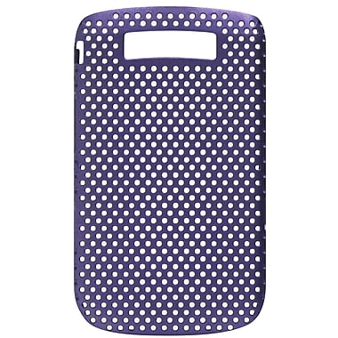 Exian – Étui troué pour BlackBerry Torch 9800/9810, violet