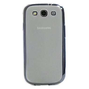Exian Case for Galaxy S3, Transparent Frosted Clear