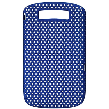 Exian BlackBerry Torch 9800/9810 Case, Net Blue