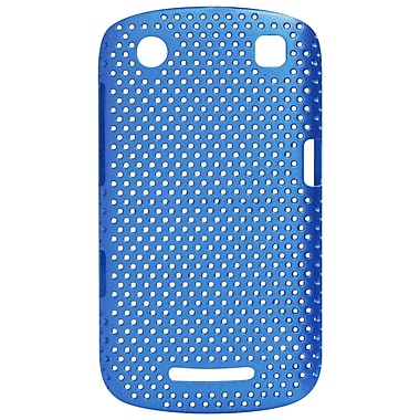 Exian Case for Blackberry Curve 9360, Net Blue