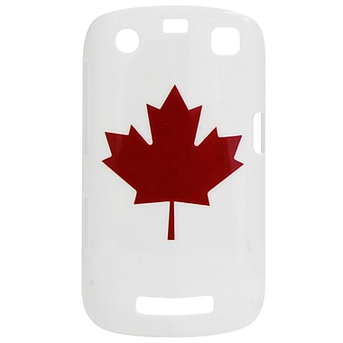 Exian Case for Blackberry Curve 9360, Maple Leaf