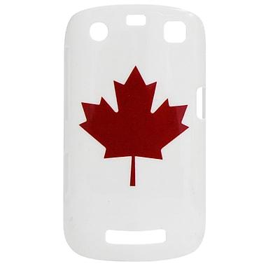 Exian Case for Blackberry Curve 9360, Maple Leaf