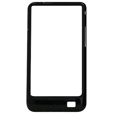 Exian Case for Galaxy S2, Hard Bumper Black