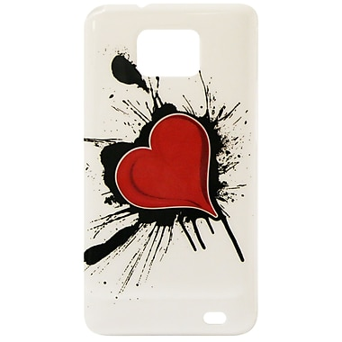 Exian Case for Galaxy S2, Heart on Ink