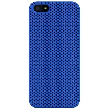 Exian – Étui troué pour iPhone 5/5s, bleu