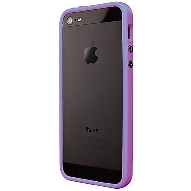 Exian iPhone SE/5/5s Bumper Case, Purple