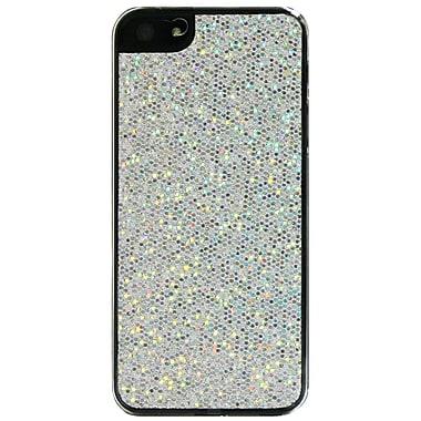 Exian iPhone SE/5/5s Case, Sparkling Silver