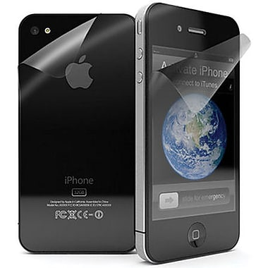 Exian iPhone 4/4s Screen Protector, Front Back Clear