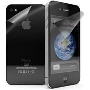 Exian – Protecteur d'écran transparent pour iPhone 4/4s, avant et arrière