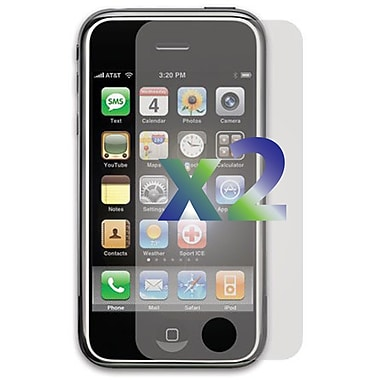 Exian iPhone 3G 3GS Screen Protectors, 2 Piece