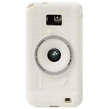 ExianMD – Étui pour Galaxy S2, motif d'appareil photo blanc