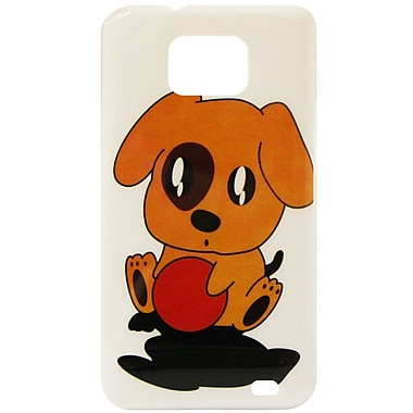 Exian Case for Galaxy S2, Cartoon Puppy