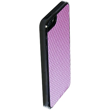 Exian iPhone SE/5/5s Case, Carbon Fibre Pink