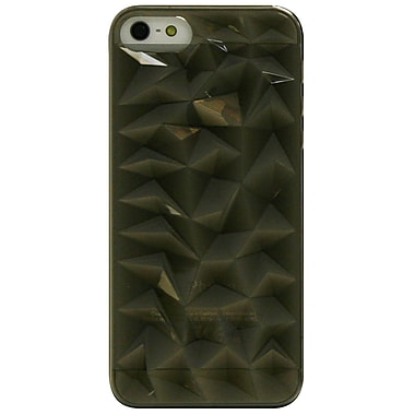Exian iPhone SE/5/5s Case, 3D Diamond Pattern Grey