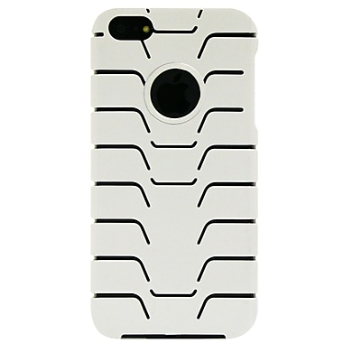 Exian iPhone SE/5/5s Case, Fishbone Pattern White